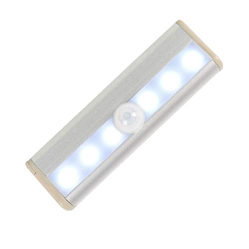 LED Motion Sensor Lights Self-Adhesive Wireless Night Light Closet Wardrobe Cabinet Strip Lamp