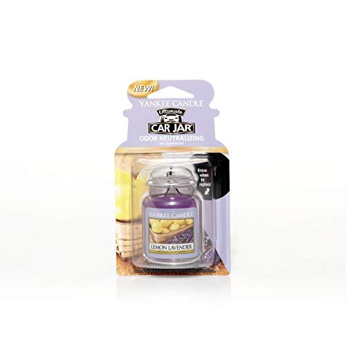 Yankee Candle 1220907E Deodoranti per Auto, Car Vaso Ultimate, Lemon Lavender