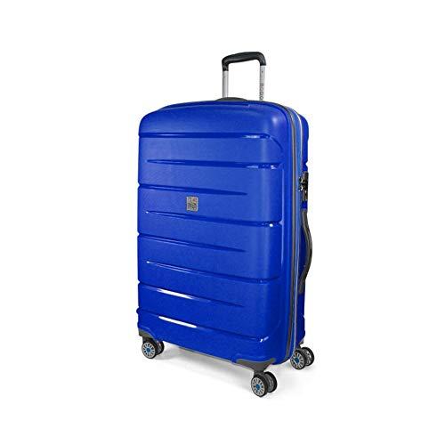 MODO BY RV Trolley Grande 79 Cm Rigido 4 Ruote Starlight 2.0, 116 Lt - 79x50x29 cm, Ultra-leggero Organizer Interno Lucchetto Combinazione TSA, Garanzia 2