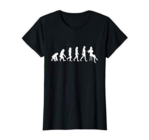 Damen Querflöte Orchester Musik Flöten Konzert Outfit Geschenk T-Shirt