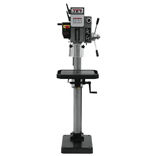 Review JET J-A2608M-PF2 20-inch Gear Head Drill Press with Powerfeed 220V, 3PH