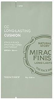 THE FACE SHOP CC LONG-LASTING Cushion V203 Natural Beige SPF50+ PA+++ [REFILL] ザ フェイスショップCC ロング ラスティング クッション V203ナチュラルベージュ SPF50 + PA +++ [リフィル] [並行輸入品]