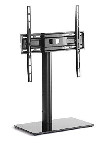 Meliconi TV Stand 400, Supporto TV da Mobile, Vesa 200-300-400 mm, Nero