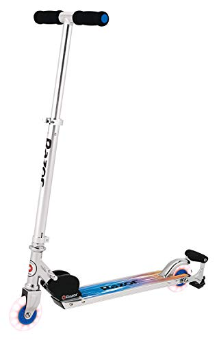 Razor Spark Ultra Kick Scooter with Super Bright LED Wheels  Blue