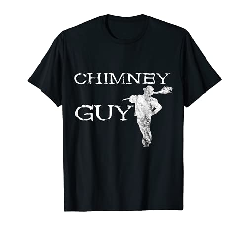 Chimenea Guy Barrido Chimenea Barredora Profesión Camiseta