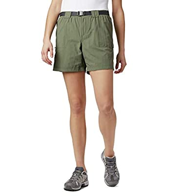 Columbia Women's Sandy River Breathable Cargo Short with UPF 30 Sun Protection, Cypress, Small