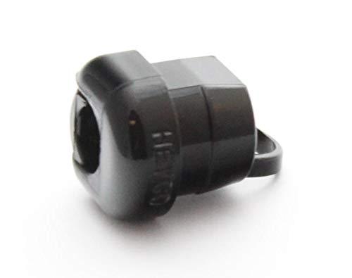 CableStrainRelief Pressacavo per cavo Heyco 6L-1 Boccola nero