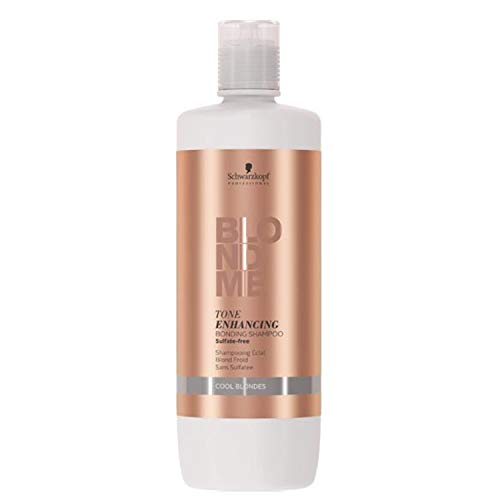 Schwarzkopf Professional BlondMe Enhancing Cool Blondes Shampoo, 1er Pack (1 x 1 l)