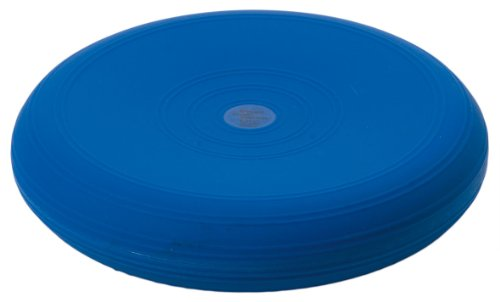 Togu Dynair Ball Cushion Senso, Blue, 33cm Diameter, Inflated, Soft, Pliable, Spikey Massage Knobs, Improves Coordination, Stabilisation, Proprioceptive & Balance Trainer, Suitable for All Age Groups
