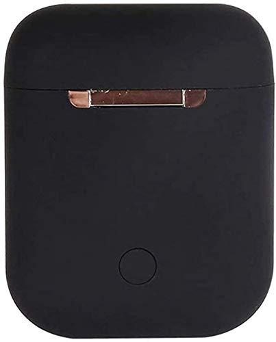 Auriculares TWS i12, color negro, con emparejamiento automático para juegos, deportes de trabajo, viajes, música con IPX5 resistente al agua, auriculares Bluetooth 5.0