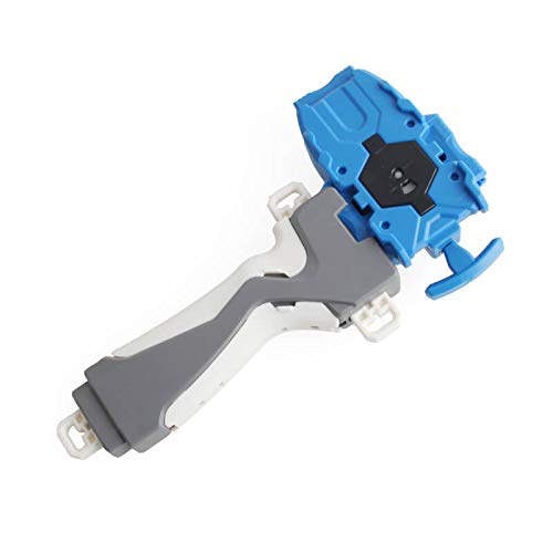 Launcher and Grip,Gyro Burst Starter String Launcher,Strong Spining Top Toys Accessories(Blue)