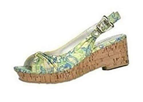 Blink sandalen kurklook satijn