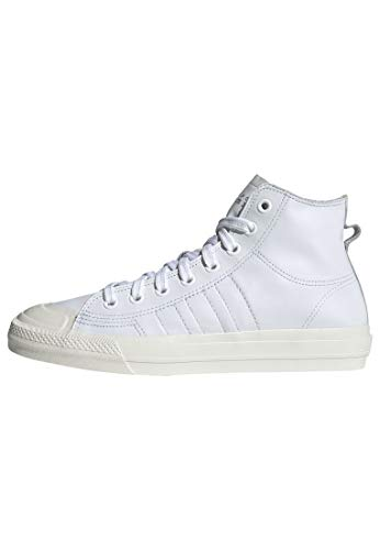 adidas Nizza RF Hi Shoes Men's, White, Size 11