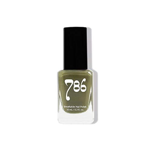 786 Cosmetics Breathable Nail Polish - Halal Nail Polish, Vegan Nail Polish, Cruelty-Free, 11-Free, Fast-Drying Nail Polish (Gaza)