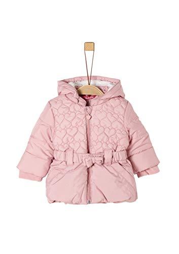 s.Oliver Baby-Mädchen 59.909.52.7019 Mantel, Rosa (Dusty Pink 4261), (Herstellergröße: 86)