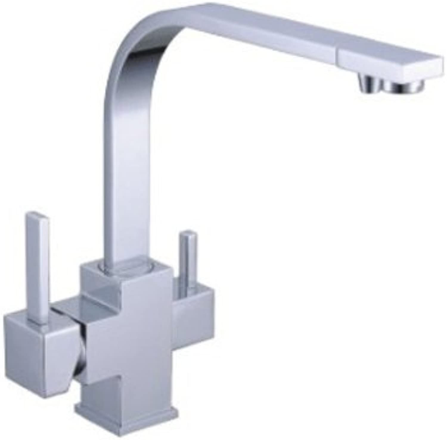 3 Way Tap ESCLUSIVO L-Auslauf White for Hot and Cold Filtered Water with AN elegant and stylish addition to your Wasserfilter. Suitable for all water filters
