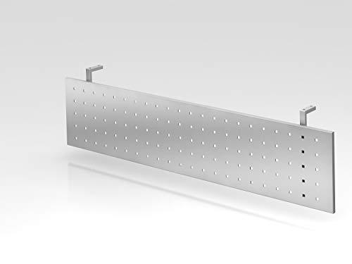 Sichtblende H=40cm 160cm Silber