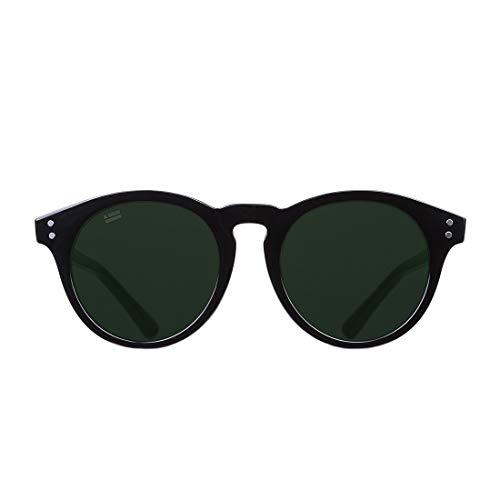 D. Franklin Unisex-Erwachsene 992 Sonnenbrille, Schwarz (Negro), 50
