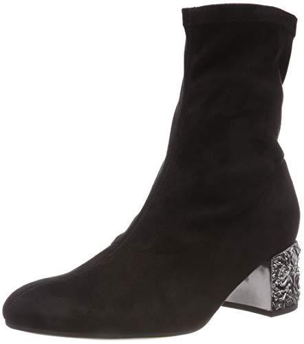 Gabor Shoes Damen Fashion Stiefeletten, Schwarz (Schwarz(Altsilber) 47), 38 EU