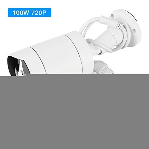 Bullet-Kamera,HD-IP,IR-Nachtsicht-Außenkamera mit NTSC-System IP66, wasserdicht für Sicherheit zu Hause(100w)