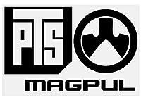 【大判】PTS MAGPUL マグプル カッティングステッカー【黒】