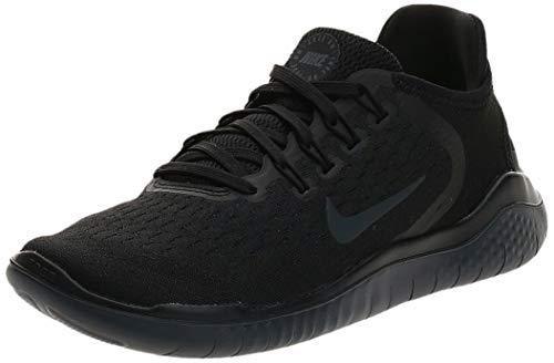 Nike Free Rn 2018, Women's Running Running Shoes, Black (Black/Anthracite 002), 3 UK (36 EU)