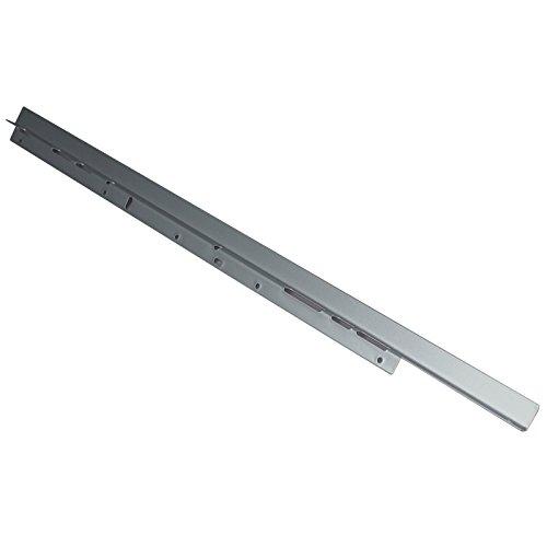 1 Paar Hitzeschutzleisten für Backöfen Material Stahl silbergrau 600 mm Herdschutzleiste Hitzeschutz von SO-TECH®