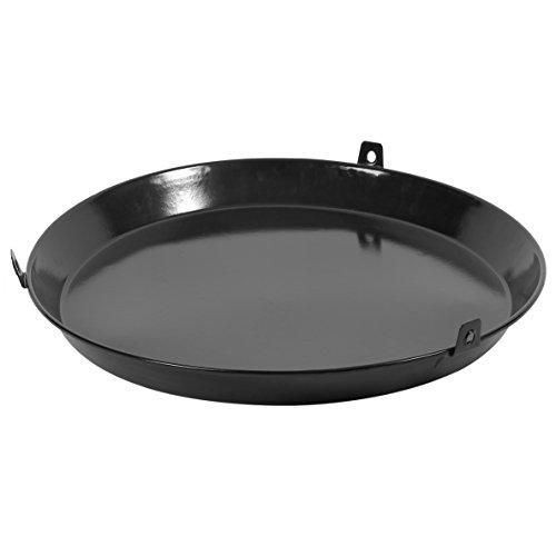 barbecook Grillpfanne für Schwenkgrill 3 Beine emaillierter Stahl Ø 60-cm, schwarz
