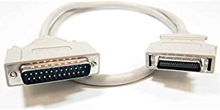 SF Cable, IEEE 1284 AC Micro-Centronics 36 Male to DB25 Male Cable for HP DeskJet & Laserjet Printers (3 Feet)