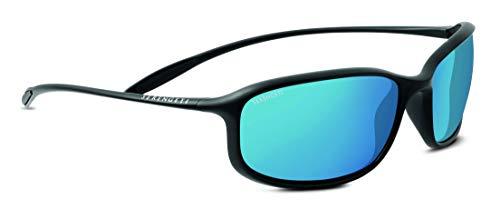 Serengeti Erwachsene Sestriere Sonnenbrille, Satin Black, Small/Medium