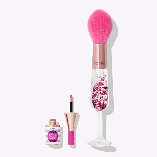 TARTE ROSE IS BAE lip gloss & brush set