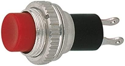 Gebildet 24pcs 12mm Interruptor a Pulsador Pestillo SPST ON//Off AC 250V//1.5A 125V//3A Timbre de Casa L/ámpara de Mesa PC Enclavamiento Mini Interruptores de Bot/ón para Trompeta de Coche
