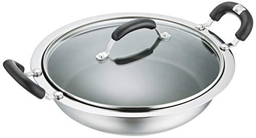 マイヤー(Meyer) 土鍋 「ホットポット 26cm」 ステンレス IH対応 軽量 【国内正規品】 HP2-W26