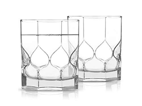 Luminarc Octime Diamond - Juego de 6 vasos de cristal (300 ml, aptos para lavavajillas), transparente