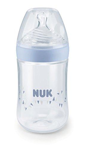 NUK ネイチャーセンスほ乳びん ポリプロピレン製 260ml シリコーン ブルー FDNK04204145