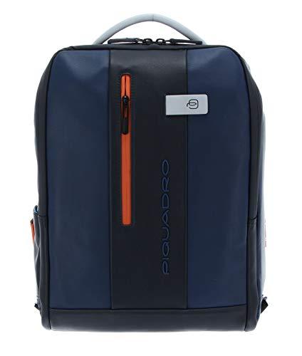 Zaino Porta Computer 15.6 con Tasca Davanti Verticale   Piquadro Urban   CA4818UB00-Blu/Grigio