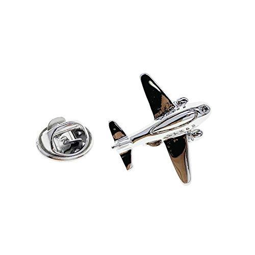 Cuff-Arts Aeroplane Plane Lapel Pin Badges Fashion Brooch Pin Jewelry with a Gift Box P10354