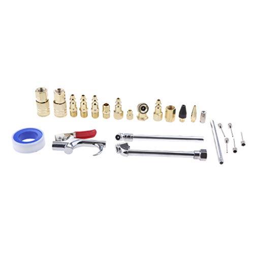 Kit de tubos flexibles para compresor de aire, suministros de construcción, piezas hidráulicas