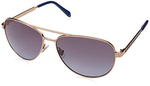 Fossil Gafas de sol de aviador Fos3065s para mujer