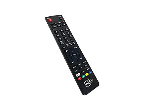 Tekeir - Telecomando di ricambio compatibile con AKAI AKTV5534