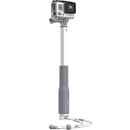 SP Gadgets Teleskopgriff für GoPro, 48 cm, silberfarben