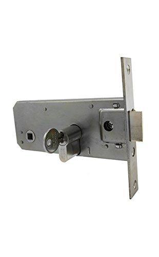 Cerradura monopunto de embutir para carpinteria metálica CEM60 CEM70L (60)