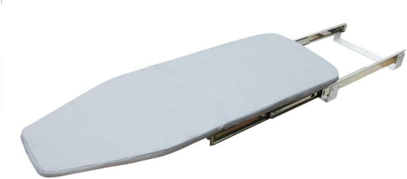 WEDF Tabla de Planchar montada en la Pared, Herramientas de Planchado Plegables Push-Pull Guardarropa Armario Cuarto de Lavado Tabla de Planchar (Color: A)
