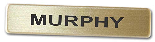 Metal Name Badges Engraved Metal Police Fire Military by Better Badges