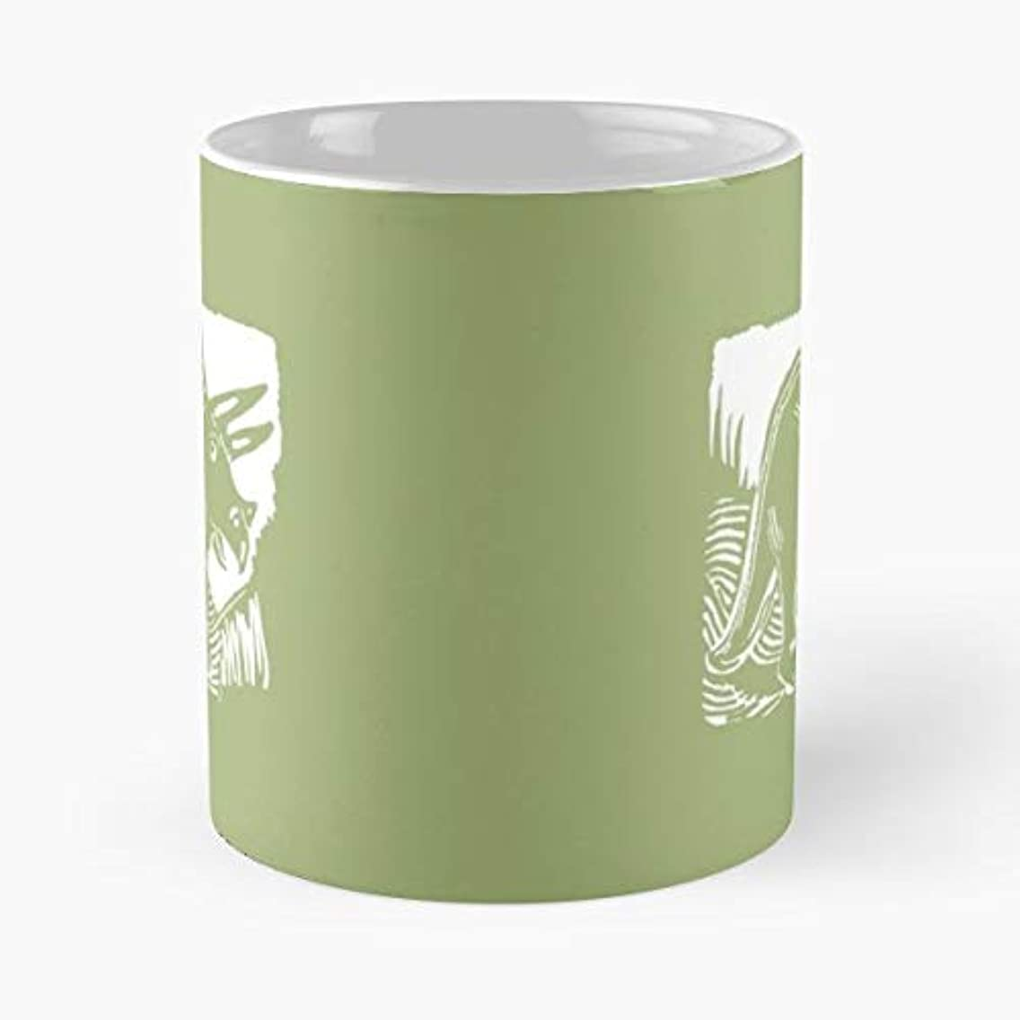 Triceratops Dinosaur Wild Animal Art - 11 Oz Coffee Mugs Ceramic The Best Gift For Holidays, Item Use Daily