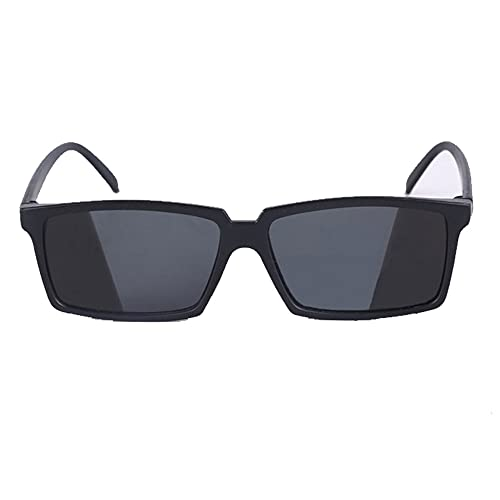 Big Size Spy Sunglasses Personal Security Looking Behind Party Glasses Rear View Sun-glass Rearview Mirror Anti Track Reflection Mirror Glasses