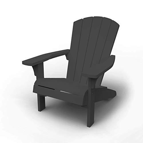 Keter Troy Adirondack Garden Chair, antharz