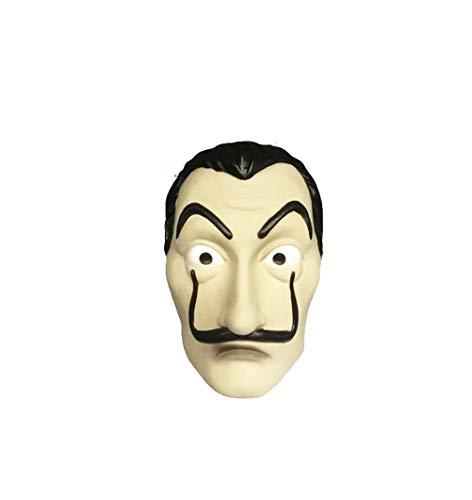 Unisex Salvador Dali geld Heist het papier huis La Casa De Papel Jumpsuit Cosplay kostuum