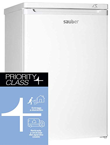 Sauber - Congelador Vertical SERIE 3-84V - 4 Cajones - Eficiencia energética: A+ - Alto: 85cm - Color Blanco