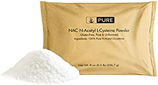 Pure NAC N-Acetyl L-Cysteine (8 oz) Naturally Sourced, Potent & Gluten-Free, Eco-Friendly Packaging
